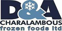D&A Charalambous Fozen Foods Logo